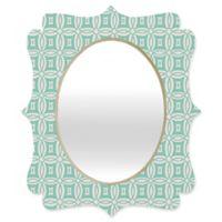 Deny Designs® Khristian A. Howell 19-Inch x 14-Inch Oval Desert Daydreams 9 Mirror in Mint