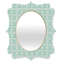 Deny Designs® Khristian A. Howell 29-Inch x 22-Inch Oval Desert Daydreams 9 Mirror in Mint