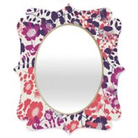 Deny Designs® Khristian A. Howell 29-Inch x 22-Inch Oval Provencal Lavender Mirror