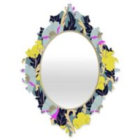 DENY Designs Aimee St Hill June Yellow Small Baroque Mirror