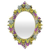 DENY Designs Aimee St Hill Mary Yellow Small Baroque Mirror