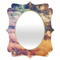 Deny Designs® Shannon Clark 19-Inch x 14-Inch Oval Cosmic Quatrefoil Mirror
