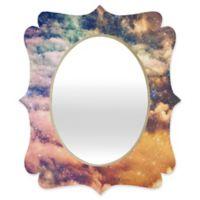 Deny Designs® Shannon Clark 29-Inch x 22-Inch Oval Cosmic Quatrefoil Mirror