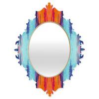 Deny Designs® Elisabeth Fredriksson 29-Inch x 22-Inch Oval Colordream 1 Baroque Mirror