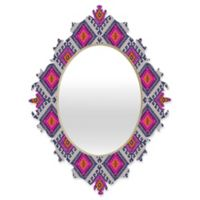 Deny Designs® Holli Zollinger 29-Inch x 22-Inch Oval Shakami Bright Baroque Mirror