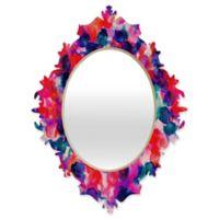 Deny Designs® Jacqueline Maldonado 29-Inch x 22-Inch Oval Filigree Baroque Mirror