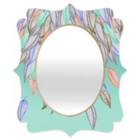 Deny Designs® Jacqueline Maldonado 19-Inch x 14-Inch Oval Different Nature Mirror