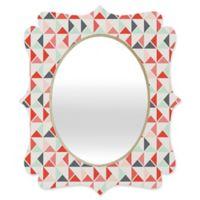 Deny Designs® Holli Zollinger 19-Inch x 14-Inch Oval Jango Quatrefoil Mirror