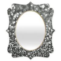 Deny Designs® Garima Dhawan 29-Inch x 22-Inch Oval Rain 11 Quatrefoil Mirror