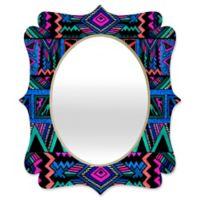 Deny Designs Kris Tate Katok Quatrefoil Small Wall Mirror