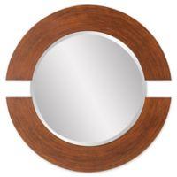Howad Elliott® 38-Inch Orbit Round Mirror in Burnished Copper