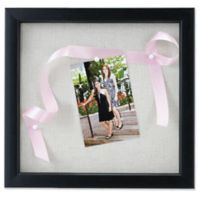 Lawrence Frames Linen-Lined 8-Inch x 8-Inch Shadow Box Frame in Black