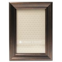 Lawrence Frames Classic Detailed 4-Inch x 6-Inch Picture Frame in Bronze