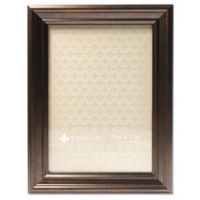Lawrence Frames Classic Detailed 5-Inch x 7-Inch Picture Frame in Bronze