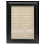 Lawrence Frames Classic Detailed 5-Inch x 7-Inch Picture Frame in Black