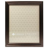 Lawrence Frames Classic Detailed 8-Inch x 10-Inch Picture Frame in Bronze