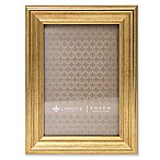 Lawrence Frames Burnished 4-Inch x 6-Inch Picture Frame in Gold