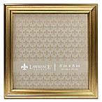 Lawrence Frames Burnished 8-Inch x 8-Inch Picture Frame in Gold