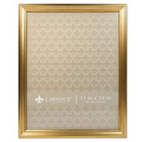 Lawrence Frames Burnished 11-Inch x 14-Inch Picture Frame in Gold