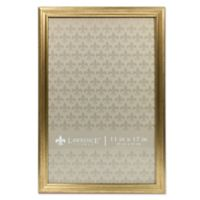 Lawrence Frames Burnished 11-Inch x 17-Inch Picture Frame in Gold
