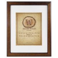 MCS Walden Woods Essentials 8-Inch x 10-Inch Frame in Warm Walnut