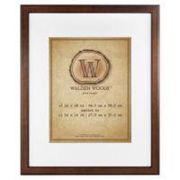 MCS Walden Woods Essentials 11-Inch x 14-Inch Frame in Warm Walnut