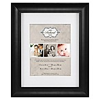 MCS Archival 8-Inch x 10-Inch Matted Frame in Black