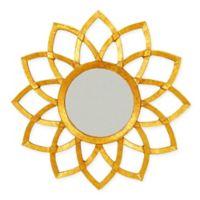 Carolina Forge Elanor Sunflower 31.5-Inch Round Mirror