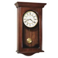 Howard Miller Orland Wall Clock in Windsor Cherry