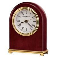 Howard Miller Arch Tabletop Clock in Rosewood