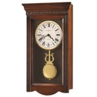 Howard Miller Eastmont Wall Clock in Windsor Cherry