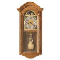 Howard Miller Fenton Wall Clock in Golden Oak
