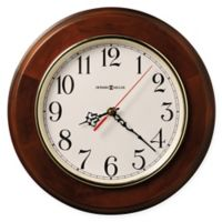 Howard Miller Brentwood Wall Clock in Windsor Cherry