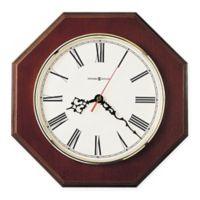 Howard Miller Ridgewood Wall Clock in Windsor Cherry