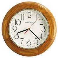 Howard Miller Grantwood Wall Clock in Champagne Oak