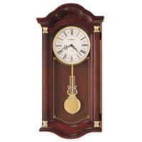 Howard Miller Lambourn I Wall Clock in Windsor Cherry