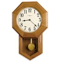 Howard Miller Elliott Wall Clock in Golden Oak