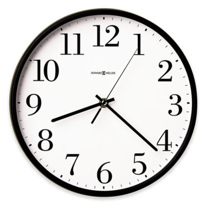 Howard Miller Office Mate Wall Clock