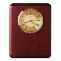 Howard Miller Honor Time I Wall Clock in Rosewood