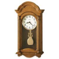 Howard Miller Amanda Wall Clock in Golden Oak