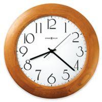 Howard Miller Santa Fe Wall Clock in Champagne Oak