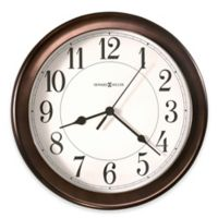 Howard Miller Virgo Wall Clock in Oil Rubbed Bronze