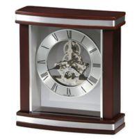 Howard Miller Templeton Tabletop Clock in Rosewood