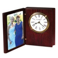 Howard Miller Portrait Book II Tabletop Clock in Rosewood Hall