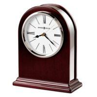 Howard Miller Peyton Tabletop Clock in Rosewood Hall