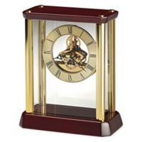 Howard Miller Kingston Tabletop Clock in Rosewood Hall