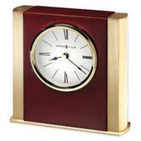 Howard Miller Ambrose Tabletop Clock in Rosewood Hall