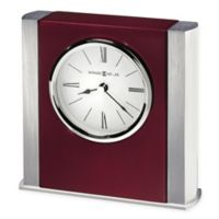 Howard Miller Manheim Tabletop Clock in Rosewood Hall