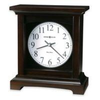Howard Miller Urban II Mantel Clock in Black Coffee