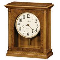 Howard Miller Carly Mantel Clock in Golden Oak